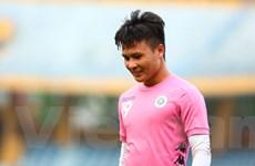 """Quang Hải chấn thương, bỏ lỡ """"đại chiến"""" Hà Nội với Sông Lam Nghệ An"""