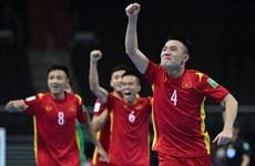 Futsal Việt Nam lặp lại lịch sử, lọt vào vòng 1/8 Futsal World Cup