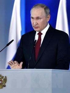 [Mega Story] Thông điệp Liên bang hợp lòng dân của Tổng thống Putin