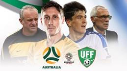 Australia - Uzbekistan: Khó cản bước nhà đương kim vô địch