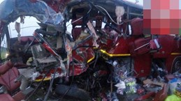 Tai nạn xe buýt thảm khốc ở Ghana, ít nhất 60 người thiệt mạng