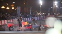 Tay đua Coulthard trình diễn tại 'Khởi động F1 Việt Nam Grand Prix'