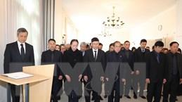 Lễ viếng và mở Sổ tang nguyên Chủ tịch nước Lê Đức Anh ở Đức, Thụy Sĩ