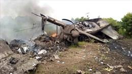 Rơi máy bay chở hàng tại Nam Sudan, 17 người thiệt mạng