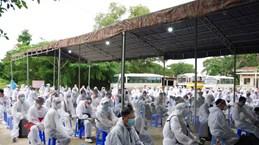 Dịch COVID-19: Đưa gần 330 công dân Việt Nam từ Angola về nước