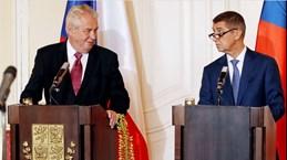 Tổng thống Cộng hòa Séc nhập viện sau khi gặp thủ tướng thất cử