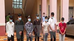 Bắt giữ 2 đối tượng đưa người vượt biên trái phép sang Campuchia