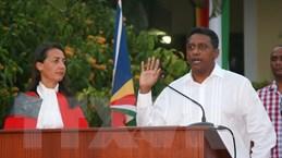 Tân Tổng thống Cộng hòa Seychelles Danny Faure nhậm chức