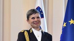 Quân đội Slovenia lần đầu tiên có nữ Tổng tham mưu trưởng