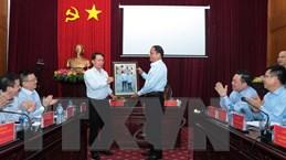 Thông tấn xã Việt Nam tăng cường hợp tác thông tin với tỉnh Bắc Kạn