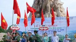 Xuất quân Liên hoan tuyên truyền lưu động về đường Trường Sơn