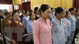 Tưởng niệm nạn nhân tử vong do tai nạn giao thông ở Hưng Yên
