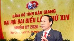 Ông Lê Tiến Châu tái đắc cử chức danh Bí thư Tỉnh ủy Hậu Giang