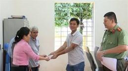 Bình Phước: Trả lại số tiền hơn 71 triệu đồng cho người đánh rơi