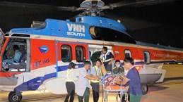 Thêm hai bệnh nhân được đưa từ Trường Sa về đất liền cấp cứu an toàn