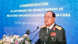 Tăng cường hợp tác quốc phòng song phương giữa Việt Nam và Cuba