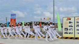 Cà Mau: Thượng cờ bốn tàu vận tải đổ bộ đa năng RoRo-5612