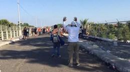 Bị tấn công tại Guatemala, hơn 3.000 người di cư tràn vào Mexico