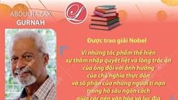 Giải Nobel Văn học vinh danh tiểu thuyết gia Abdulrazak Gurnah