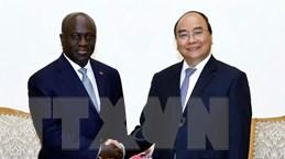 Thủ tướng Nguyễn Xuân Phúc tiếp Bộ trưởng Ngoại giao Côte d'Ivoire