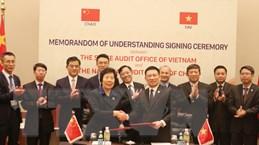 Việt Nam và Trung Quốc ký kết hợp tác trong lĩnh vực kiểm toán