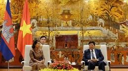 Tăng cường trao đổi kinh nghiệm, hợp tác giữa Hà Nội-Phnom Penh