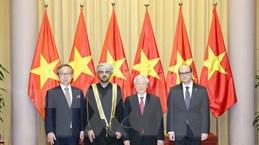 Tổng Bí thư, Chủ tịch nước nhận Quốc thư của Đại sứ các nước