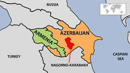 Nã đạn pháo gây thiệt hại ở khu vực tranh chấp Nagorno-Karabakh