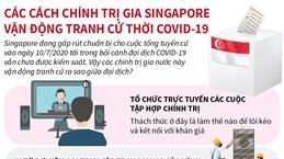 Các cách chính trị gia Singapore vận động tranh cử thời COVID-19