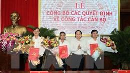 Công bố các Quyết định về cán bộ chủ chốt tỉnh Hậu Giang