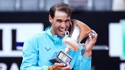 Hạ Novak Djokovic, Nadal lập kỷ lục mới tại Rome Masters