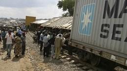 Tai nạn đường sắt nghiêm trọng tại CH Congo, 13 người thiệt mạng