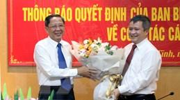 Ông Trần Tiến Hưng được luân chuyển làm Phó Bí thư Tỉnh ủy Hà Tĩnh