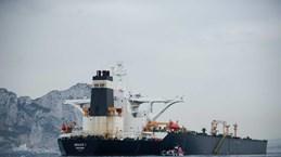 Gibraltar gia hạn tạm giữ tàu chở dầu Iran thêm 30 ngày