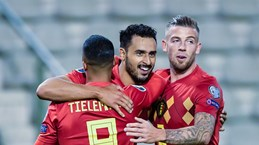 Tuyển Bỉ giành vé đầu tiên góp mặt ở vòng chung kết Euro 2020