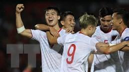 Đội tuyển Việt Nam thăng tiến trên bảng xếp hạng FIFA