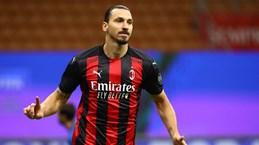 Ibra lập cú đúp, AC Milan chia điểm đầy kịch tính trước AS Roma