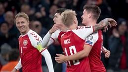 Tuyển Đan Mạch giành vé thứ 2 đến Qatar dự VCK World Cup 2022
