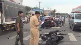 Mỗi ngày cả nước có khoảng 18 người chết vì tai nạn giao thông