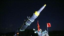 Triều Tiên công bố hình ảnh đe dọa tấn công tên lửa đảo Guam