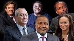 Châu Phi gây bất ngờ khi có 24 tỷ phú, hàng ngàn triệu phú USD