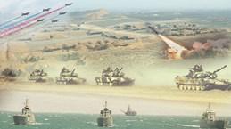Azerbaijan tập trận lớn trước thềm cuộc gặp thượng đỉnh với Armenia