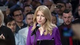 [Video] Luật sư Caputova trở thành nữ Tổng thống đầu tiên của Slovakia