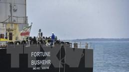 Tàu Iran chở hơn 230.000 thùng xăng tới hỗ trợ Venezuela