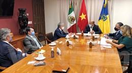 Việt Nam thúc đẩy quan hệ thương mại với bang Jalisco của Mexico