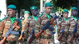 Đụng độ bên ngoài tòa nhà Quốc hội Mauritania, 9 người bị thương