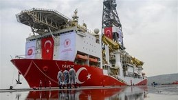 CH Cyprus phản đối Thổ Nhĩ Kỳ đưa tàu thăm dò tới vùng biển nước này