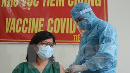 [Photo] Đà Nẵng tiêm vaccine COVID-19 đợt 3 cho 25.000 người
