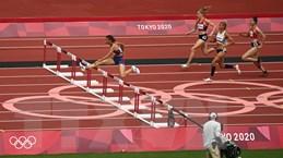 Vận động viên Quách Thị Lan vào bán kết chạy 400m vượt rào nữ