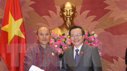 Kiểm toán Nhà nước Việt Nam và Bhutan tăng cường quan hệ hợp tác